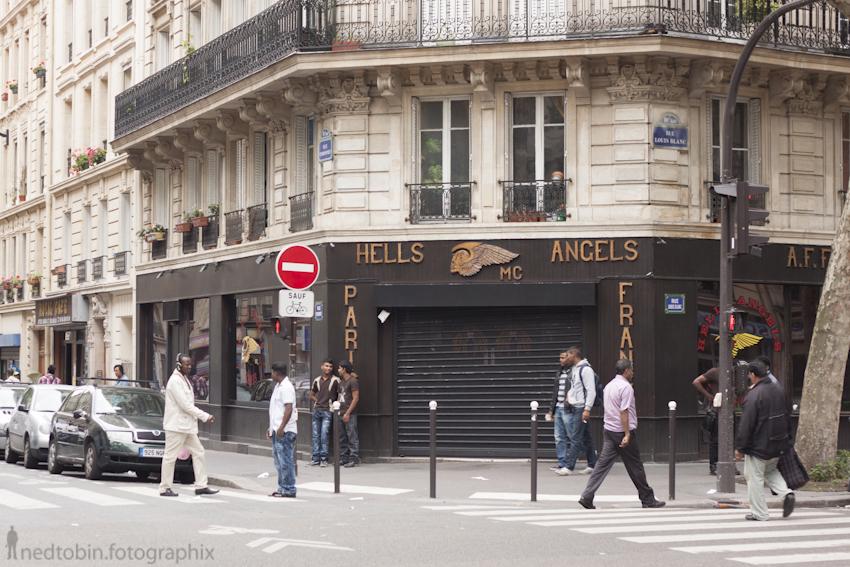 Hells Angels, Paris, France