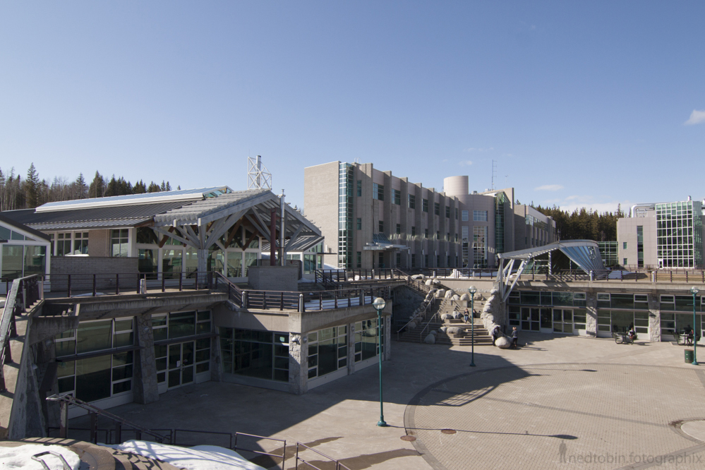 University of Northern British Columbia architecture Agora