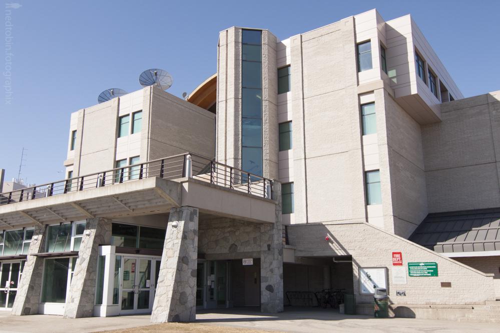 University of Northern British Columbia architecture Geoffrey R. Weller Library