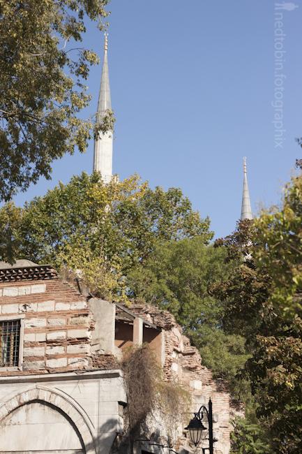 Minarets, Architecture of Istanbul, Turkey