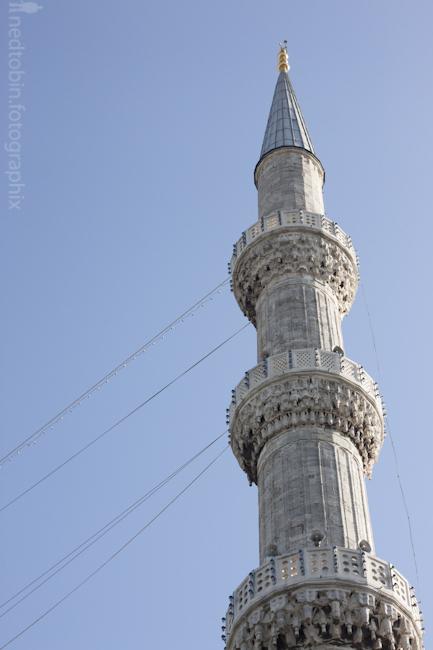Minaret, Architecture of Istanbul, Turkey