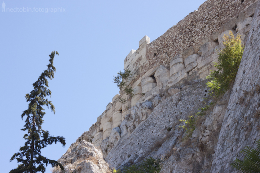 Side of Aglaureion | Acropolis, Athens, Greece
