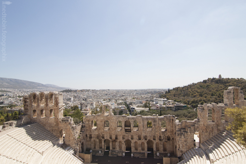 Odeum of Herodes Atticus | Acropolis, Athens, Greece