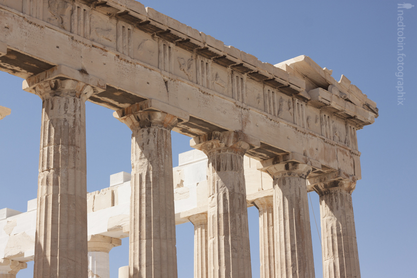Parthenon Detail | Acropolis, Athens, Greece