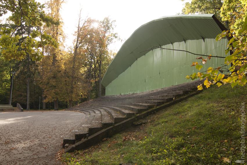 Bandstand at Elley (lv. Eleja)
