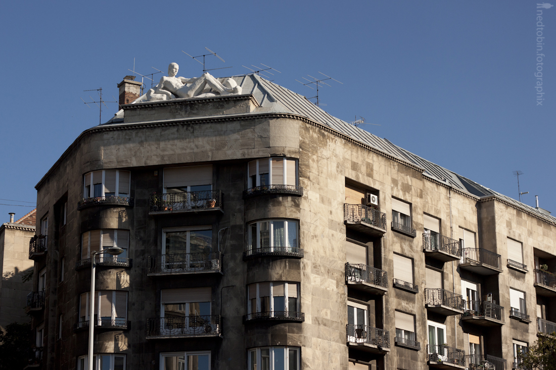 Budapest Architecture by Ned Tobin