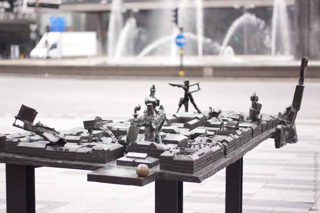 Stockholm, Sweden by Ned Tobin