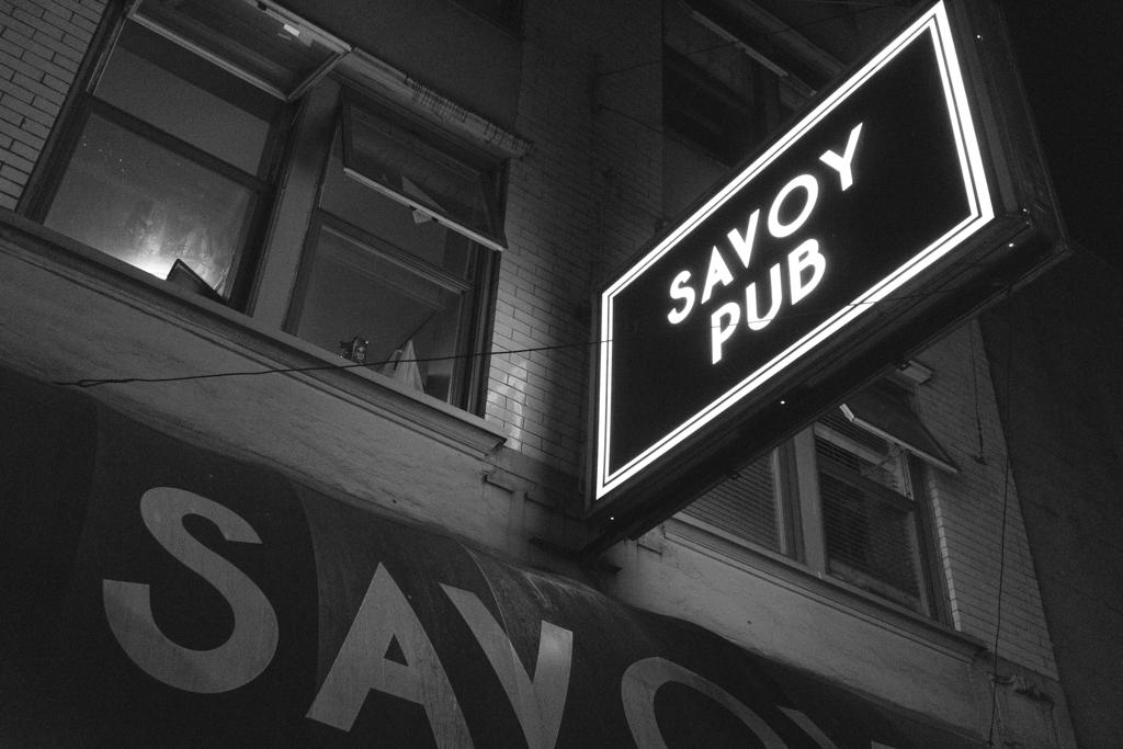 Savoy Pub, Vancouver, British Columbia, Canada