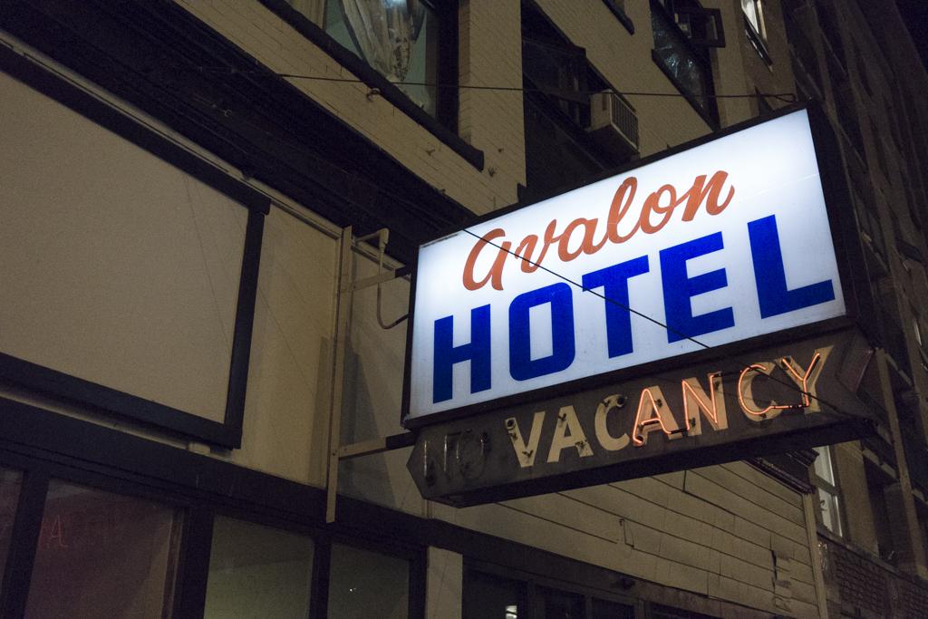 Avalon Hotel, Vancouver, British Columbia, Canada