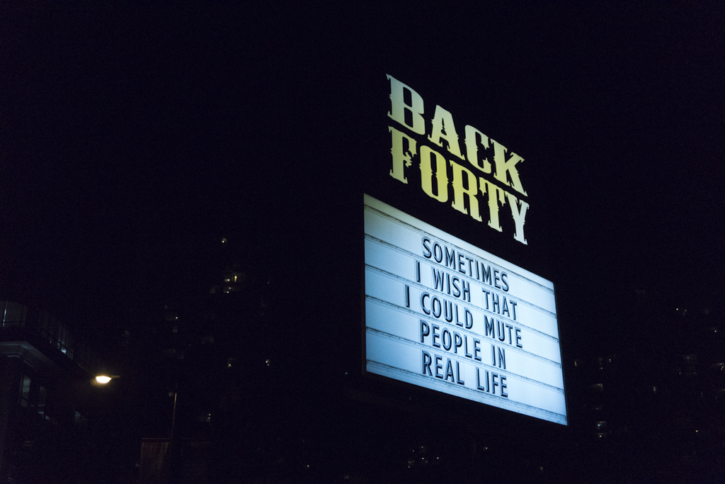 Back Forty, Vancouver, British Columbia, Canada