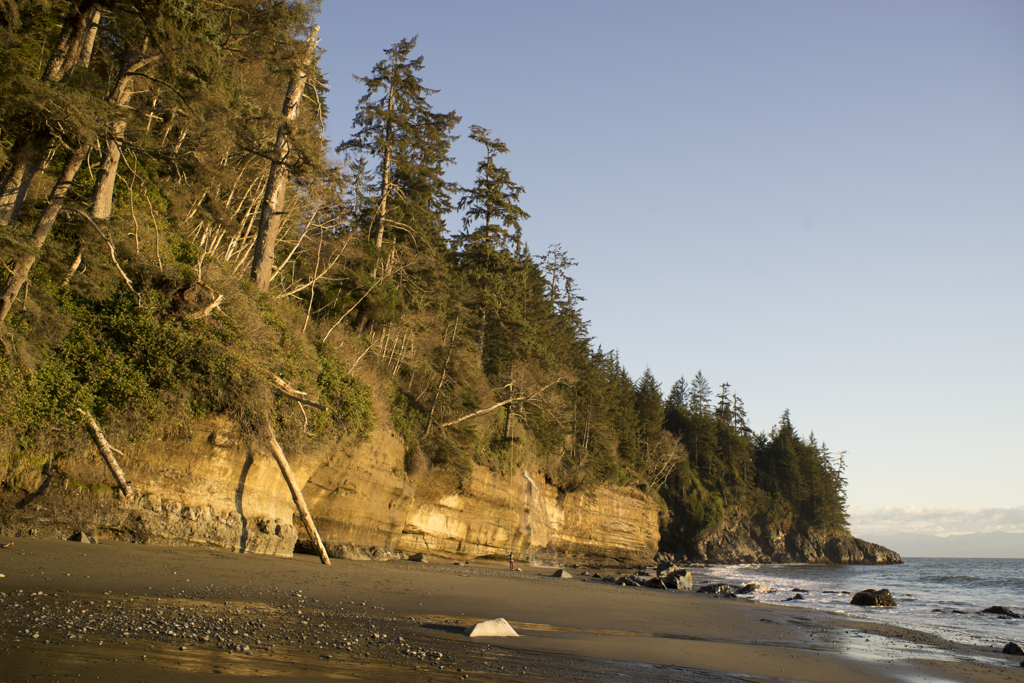 rugged West coast of Vancouver Island