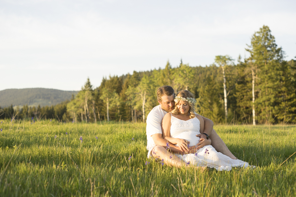 maternity photographs in BC, Canada