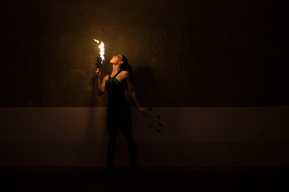 Tristan Risk Fire Artist - Ned Tobin