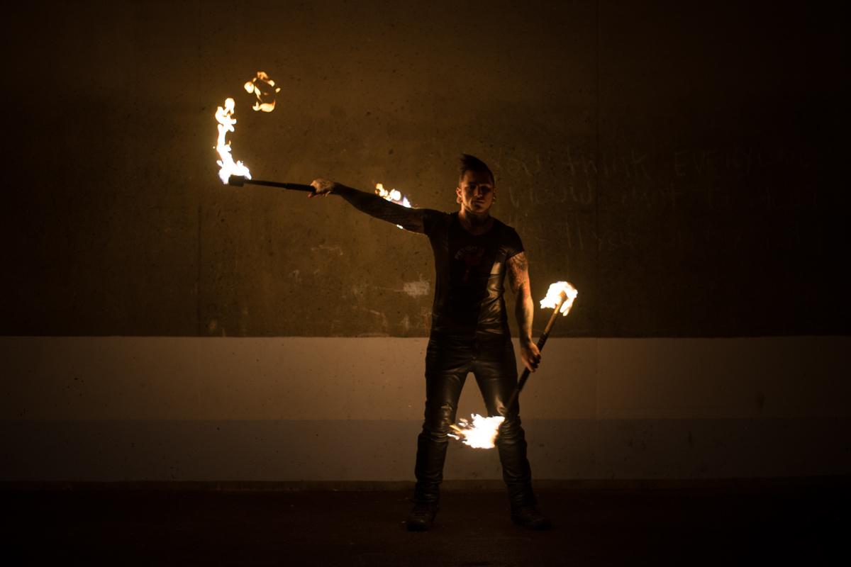 Holy Scar Fire Artist - Ned Tobin