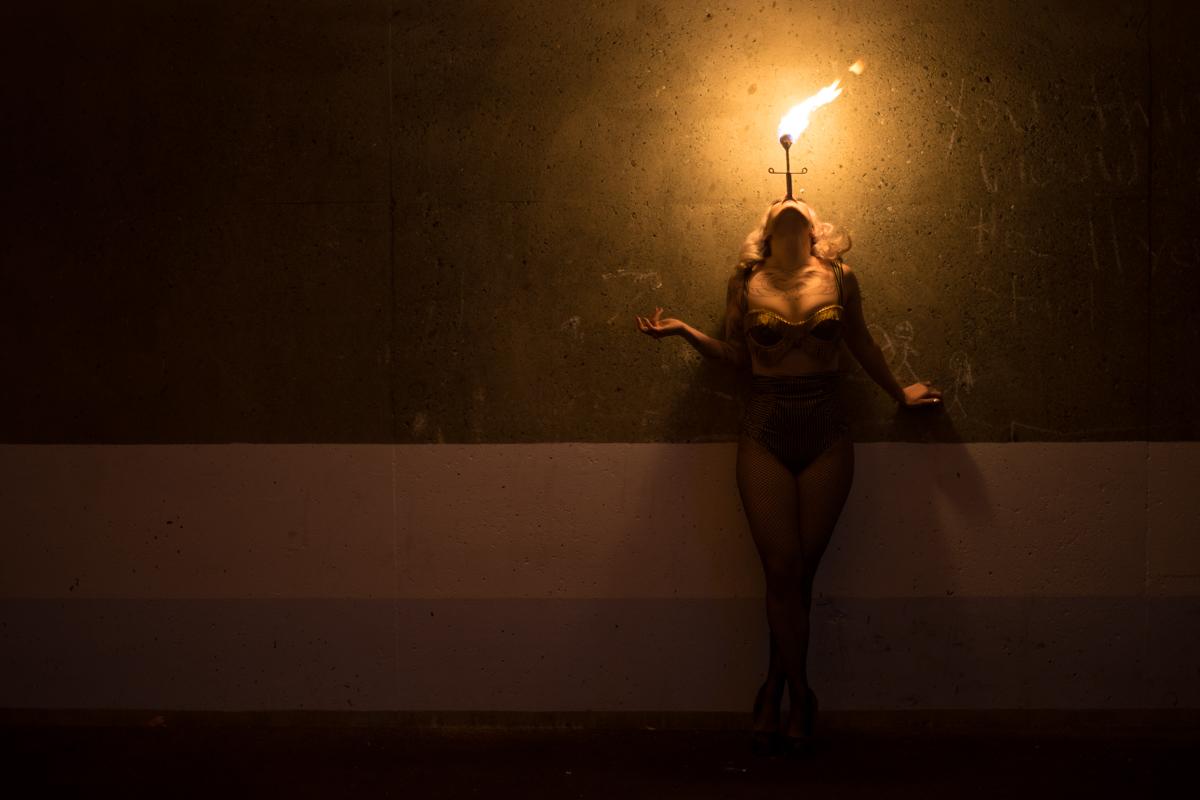 Vivianne Oblivion Fire Artist - Ned Tobin
