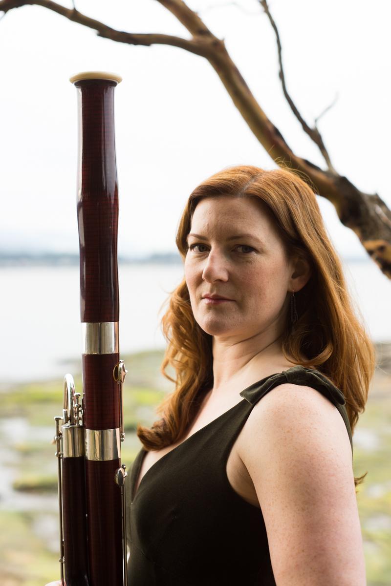 Olivia Martin bassoonist - Ned Tobin